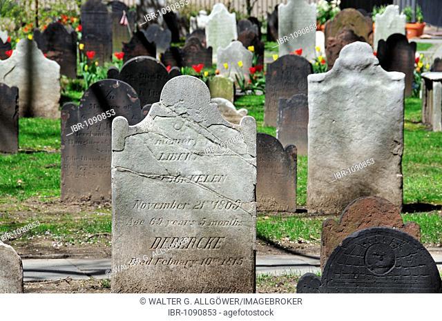 Trinity Church Cemetery, Manhattan, New York City, USA