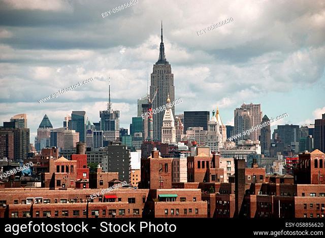 New York City Skyline from the Brooklyn Bridge