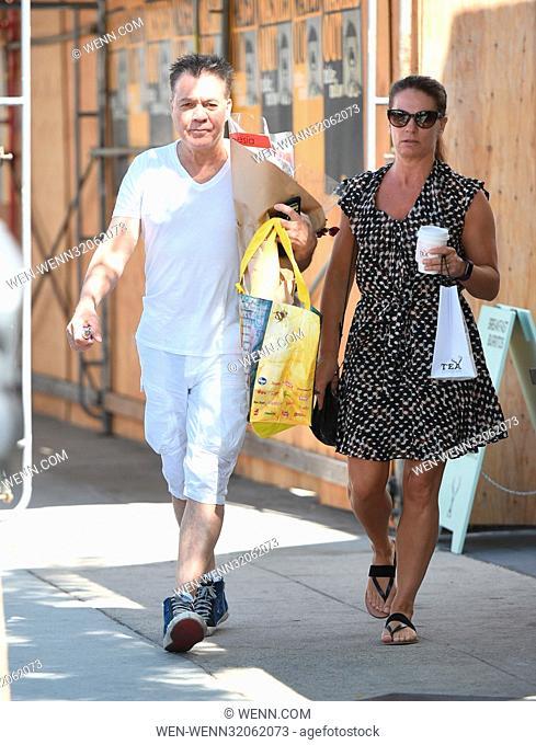 Eddie Van Halen Goes To The Farmers Market With His Wife Janie Liszewski Featuring Eddie Van Halen Stock Photo Picture And Rights Managed Image Pic Wen Wenn32062073 Agefotostock
