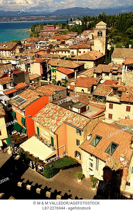 Sirmione, Brescia, Garda lake, Italy