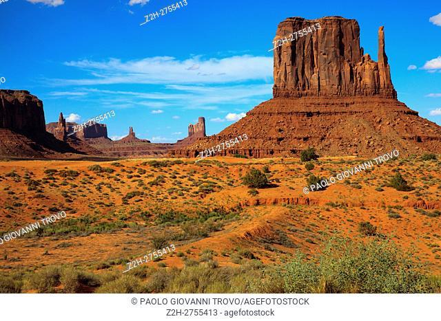 Navajo Tribal Reservation, Monument Valley, Utah/Arizona, USA