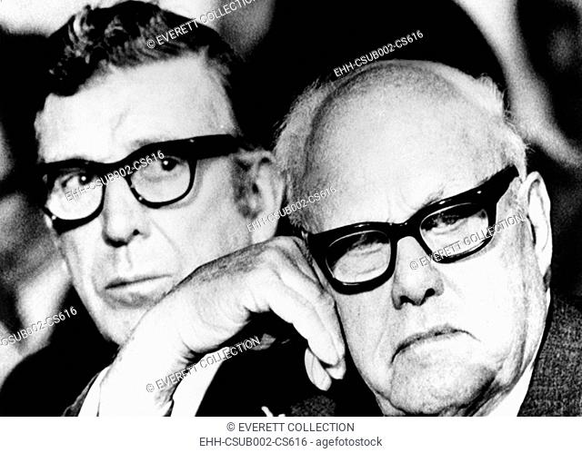 'The only security against inflation for most Americans, is their jobs,' said George Meany. Sept. 30, 1974. The AFL-CIO President and Leonard Woodcock of UAW...