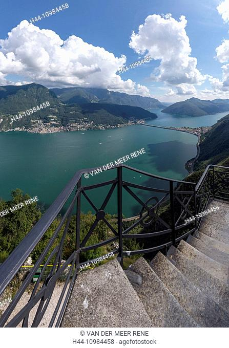 view over Lugano, Ticino