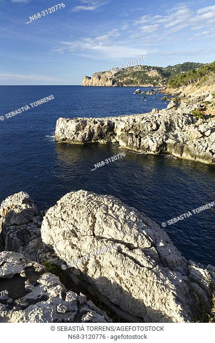 Coast of Deia, Majorca, Balearic Islands, Spain