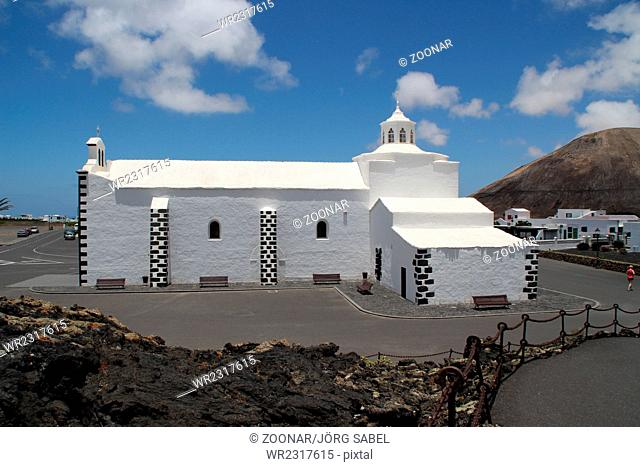 A church in Lanzarote
