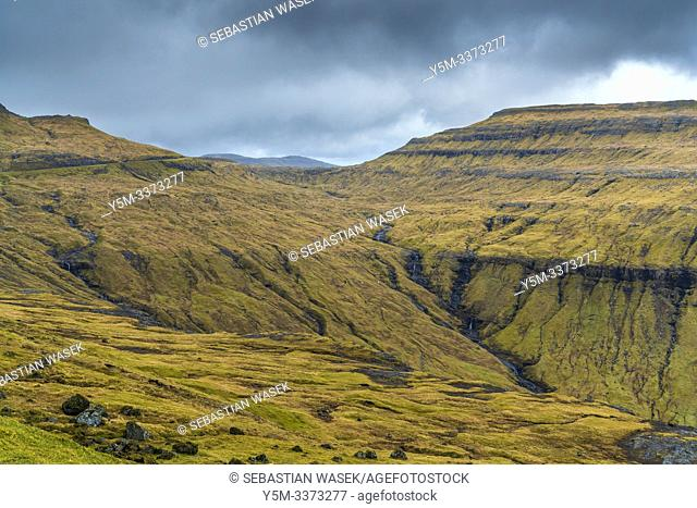 Kaldbaksfjørður, Streymoy, Faroe Islands, Denmark, Europe