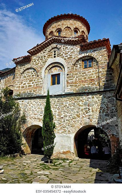 St. Archangels Church in Medieval Bachkovo Monastery, Bulgaria