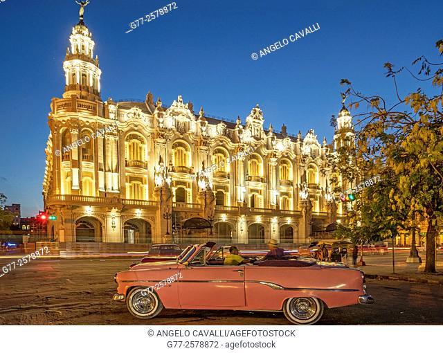 Great Theatre of Havana, Paseo del Prado, Havana, Cuba
