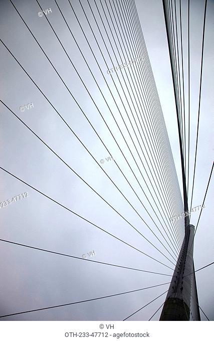 Stonecutters Bridge, New Territories, Hong Kong