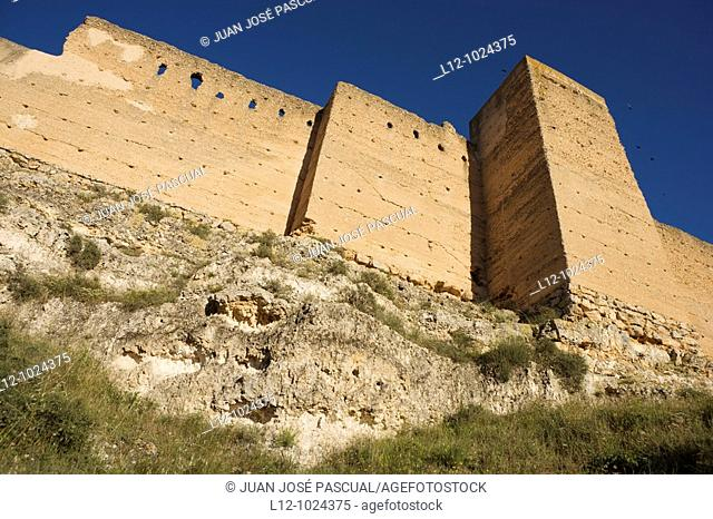 Jorquera medieval Walls, Jorquera, Castille la Mancha, Spain