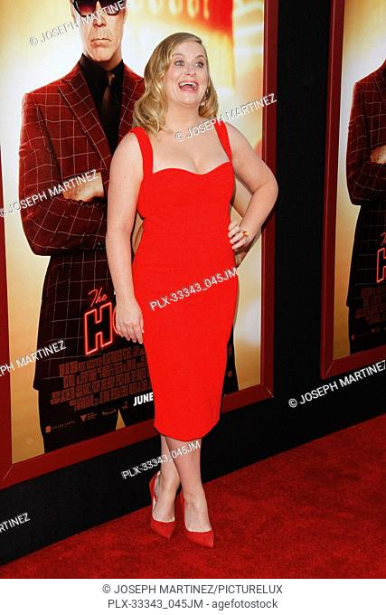 """Amy Poehler at the Premiere of New Line Cinema's """"""""The House"""""""" held at the TCL Chinese Theater in Hollywood, CA, June 26, 2017"""