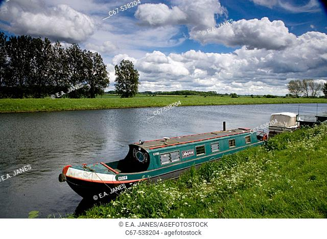 River Great Ouse, The Fens, Norfolk, England