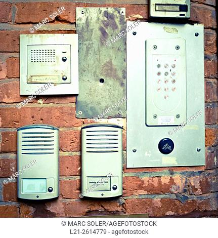 Old interphones