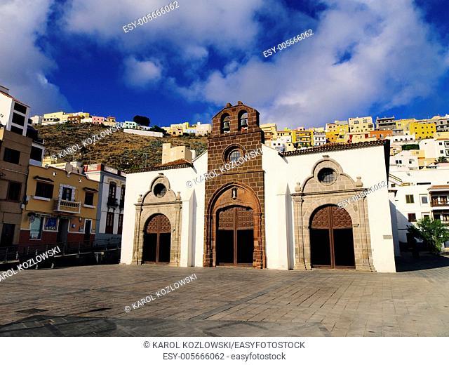Church in San Sebastian de la Gomera, Canary Islands, Spain