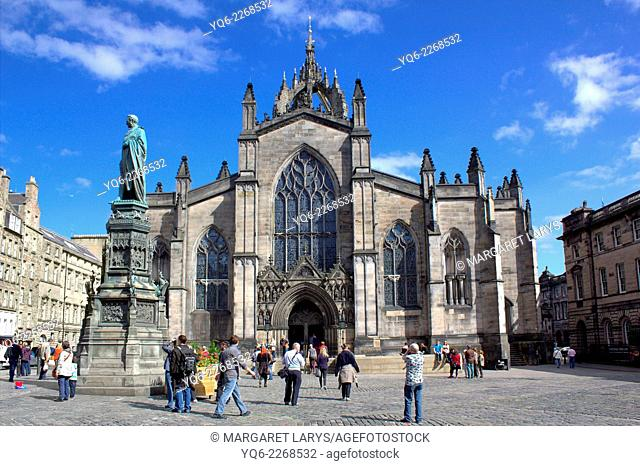 The High Kirk of Edinburgh, known colloquially as St Giles' Cathedral