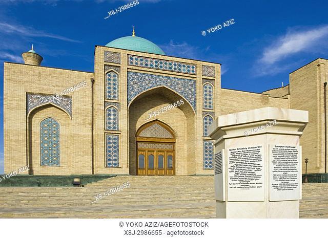 Uzbekistan, Tashkent, Khazret Imam complex
