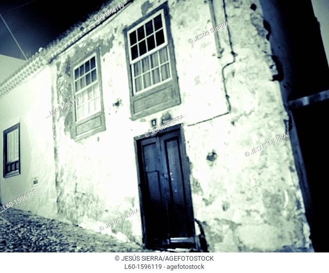 Old house in Canary Islands, Spain