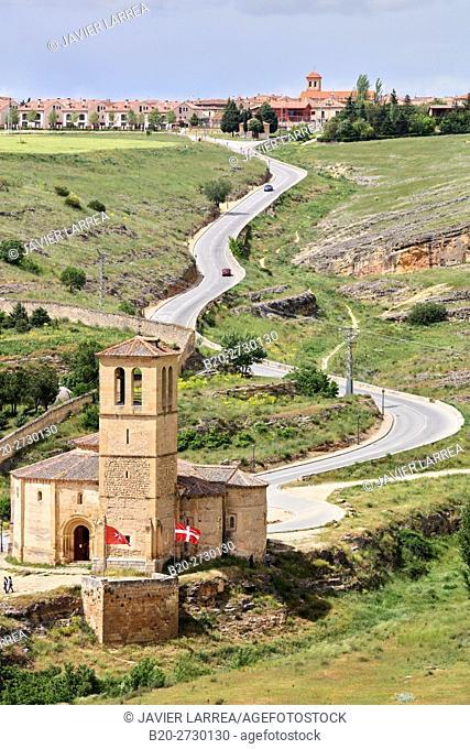 Spain, Castile-Leon, Segovia, Iglesia de la Vera Cruz