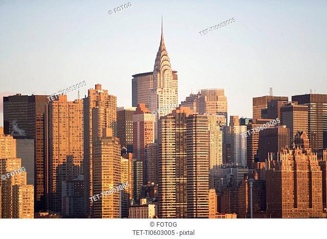 USA, New York State, New York City, cityscape
