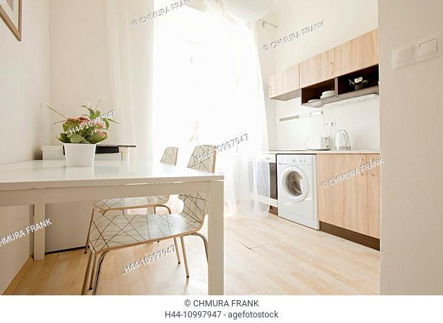 Apartment Interior - Kitchen