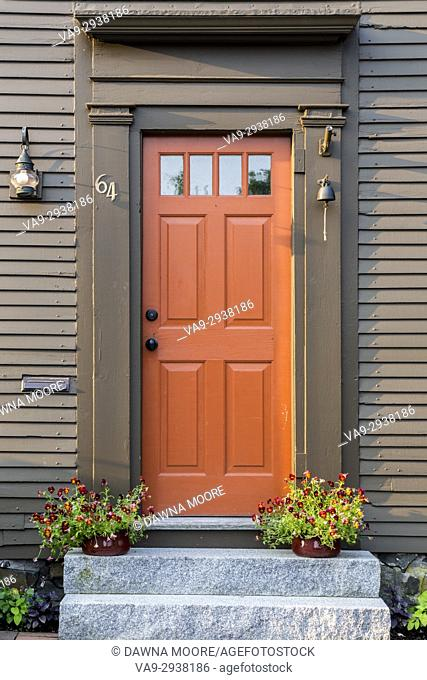 Old Door in Portsmouth, New Hampshire