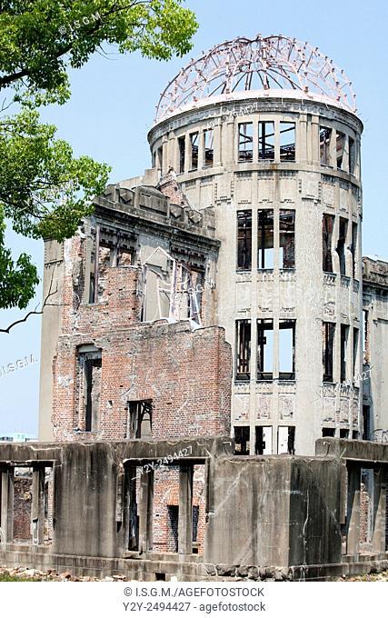 Genbaku dome at Hiroshima, Japan