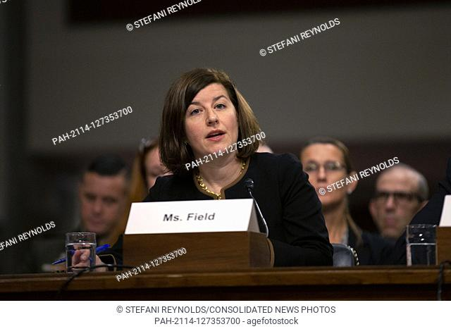 Director of Defense Capabilities and Management at the Government Accountability Office Elizabeth Field, on a panel with Secretary of the Army Ryan McCarthy