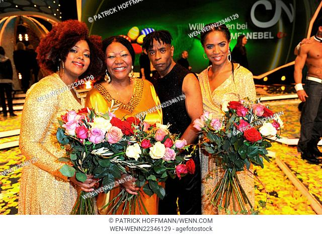"""Recording of german ZDF TV Show """"""""Willkommen bei Carmen Nebel"""""""" at TUI Arena. Featuring: Boney M. feat. Liz Mitchell Where: Hannover"""