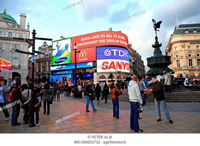 England, London, Piccadilly Circus