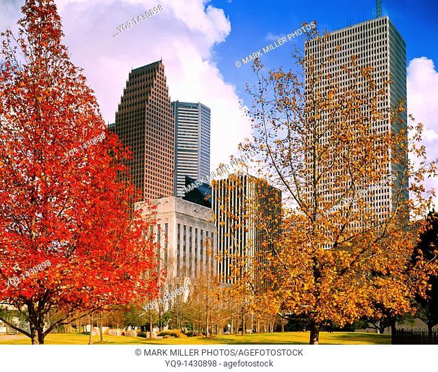 Sam Houston Park, Historic, Downtown, Houston, Texas, USA, Texans, Sam Houston, Bagby, Texas Independence