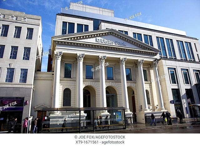 The ulster bank headquarters donegall square east Belfast Northern Ireland UK