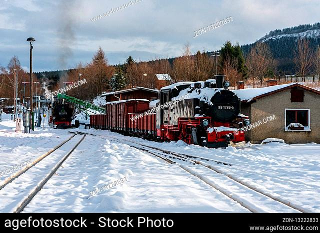 Narrow-gauge railways in Saxony, Fichtelberg railway