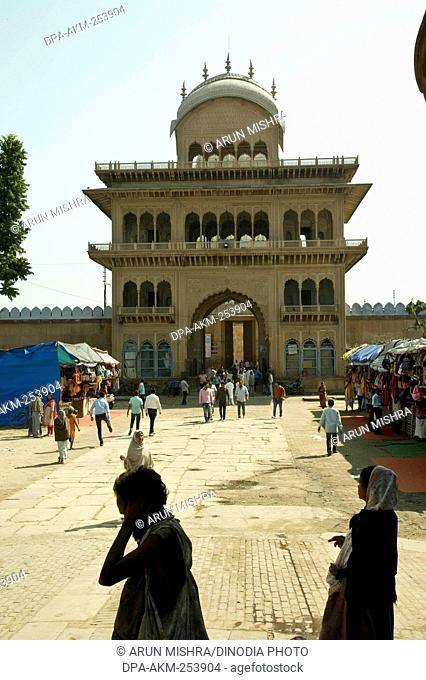 Rang ji temple, vrindavan, uttar pradesh, india, asia