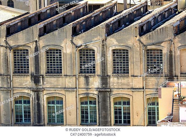 Abandoned  factory. El Masnou, Barcelona province. Spain