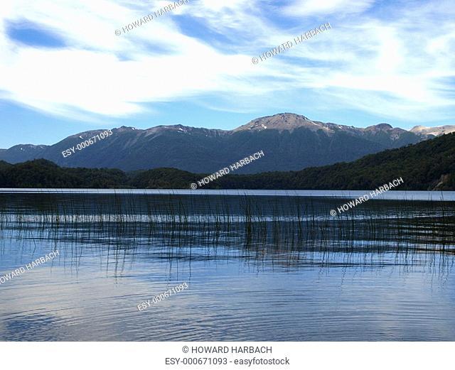 lake queni in patagonia