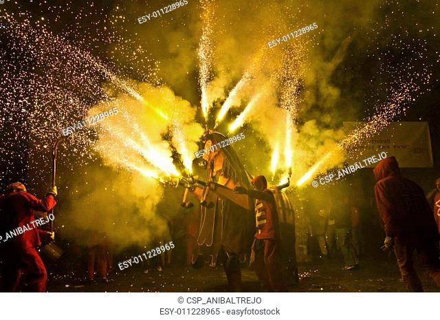 Correfoc Festa Major El Vendrell