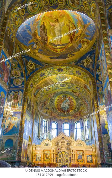 """Church Of The Spilled Blood St Petersburg Russia St saint Petersburg, Russian Sankt Peterburg, formerly (1914â. """"24) Petrograd and (1924â"""