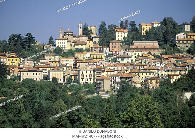 little town view, brunate, italy