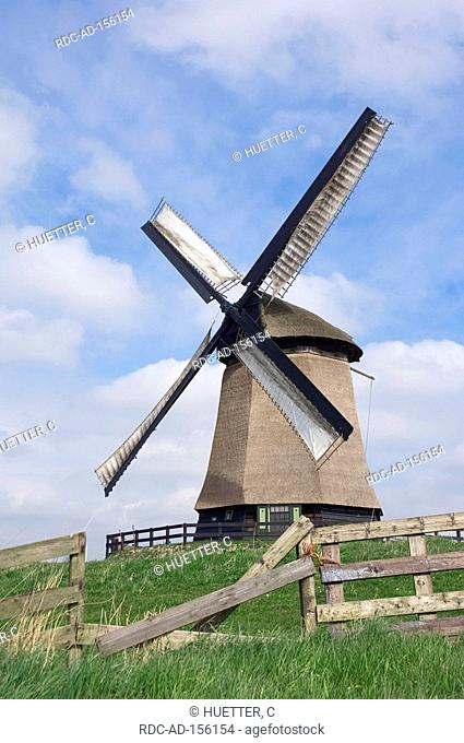 Windmill Schermerhorn Netherlands