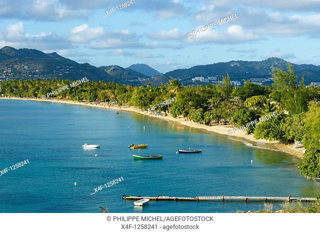 France, Martinique, Sainte Anne beach
