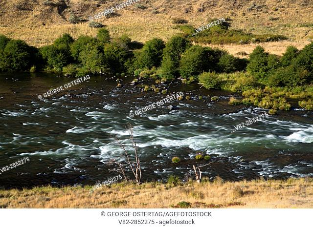 Deschutes River from Railbed Trail, Deschutes River State Park, Columbia River Gorge National Scenic Area, Oregon