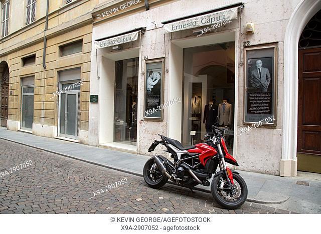 Ernesto Capua Clothes Shop, San Giorgio Street, Modena, Italy