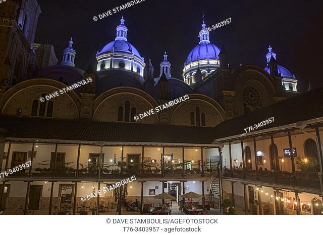 Cuenca's New Cathedral (Cathedral of the Immaculate Conception), Cuenca, Ecuador