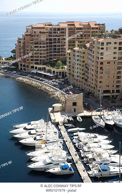 Montecarlo, Monaco, the harbour