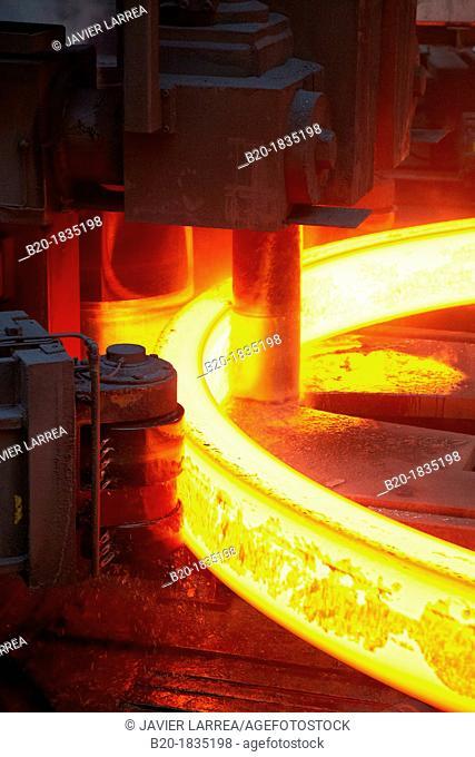 Steel rolling, Metallurgy industry