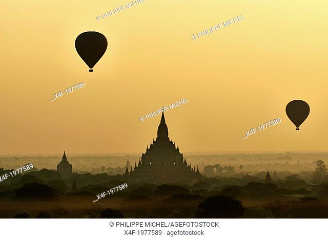 Myanmar (Burma), Mandalay Province, Pagan or Bagan, Unesco world heritage