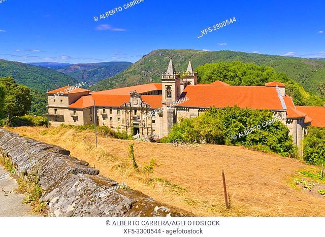 Monastery of San Estevo de Ribas de Sil, Spanish Property of Cultural Interest, Spanish National Heritage Site, Tourism Parador Spanish Luxury Hotel