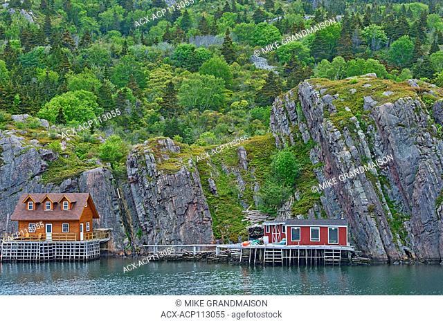 Fishing village, Quidi Vidi, Newfoundland & Labrador, Canada