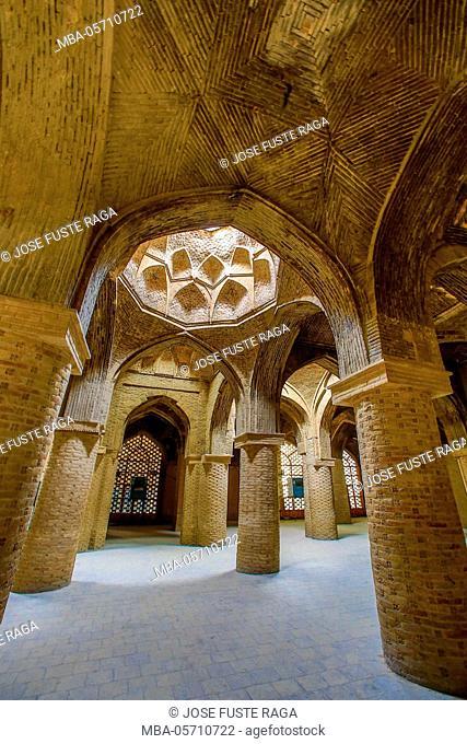Iran, Esfahan City, Masjed-e Jame (Friday Mosque) UNESCO, World Heritage, UNESCO World Heritage, Prayer Hall