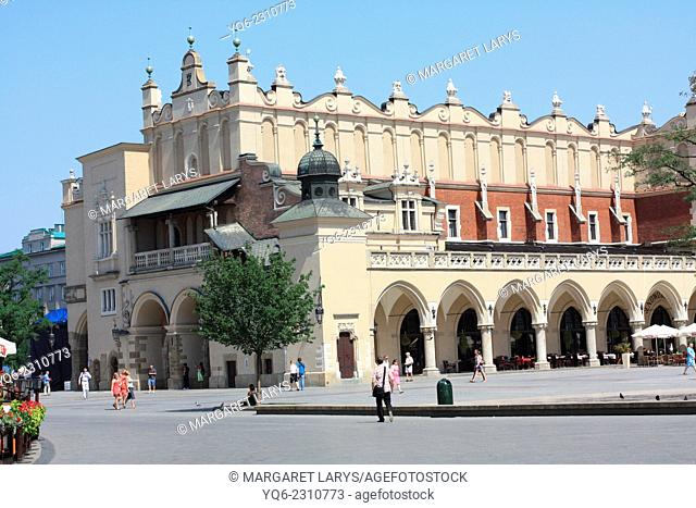 The Cloth Hall (Polish: Sukiennice) in Kraków, Lesser Poland, dates to the Renaissance and is one of the city's most recognizable icons